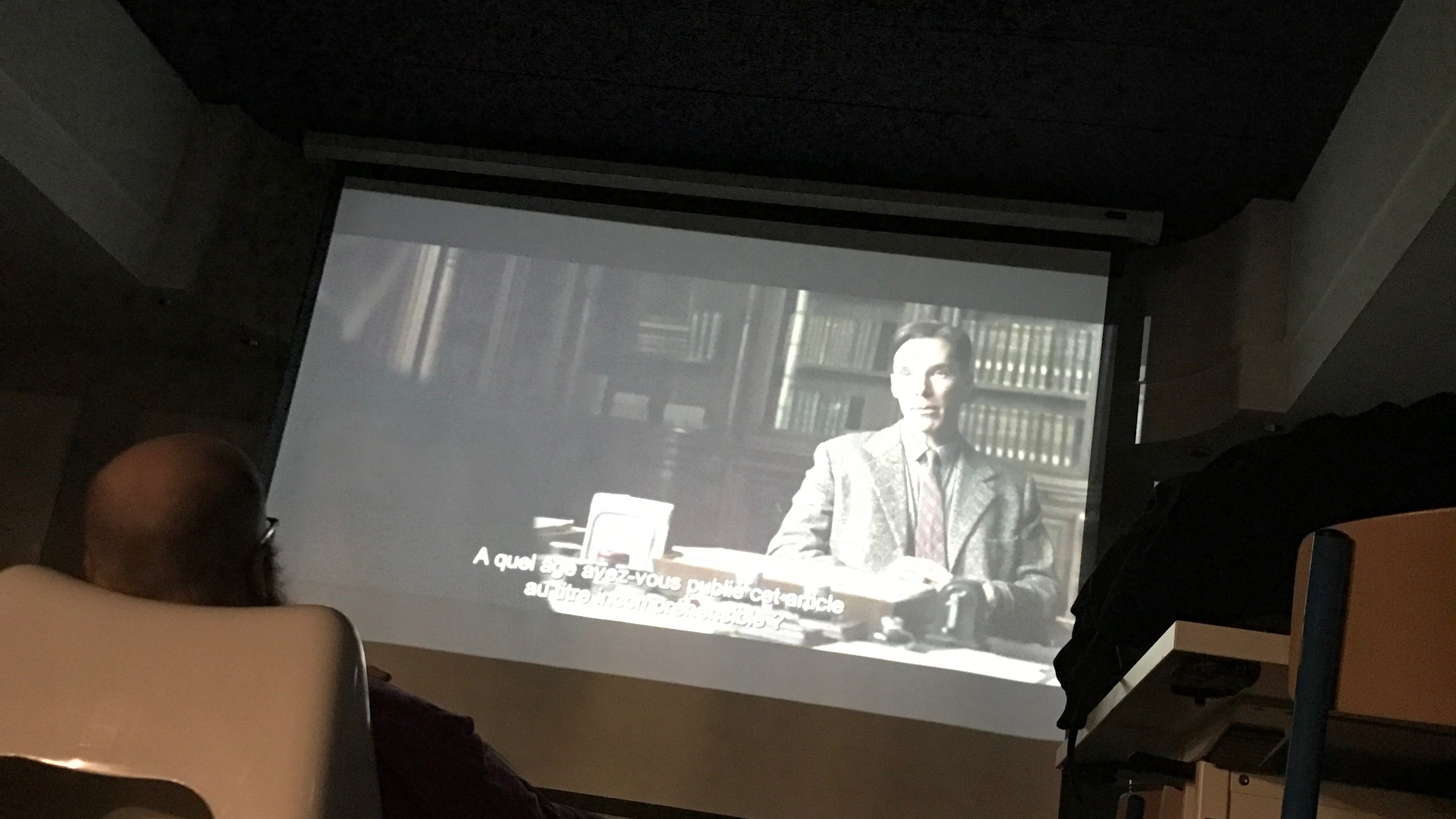 Diffusion The imitation game - E-mma Lille